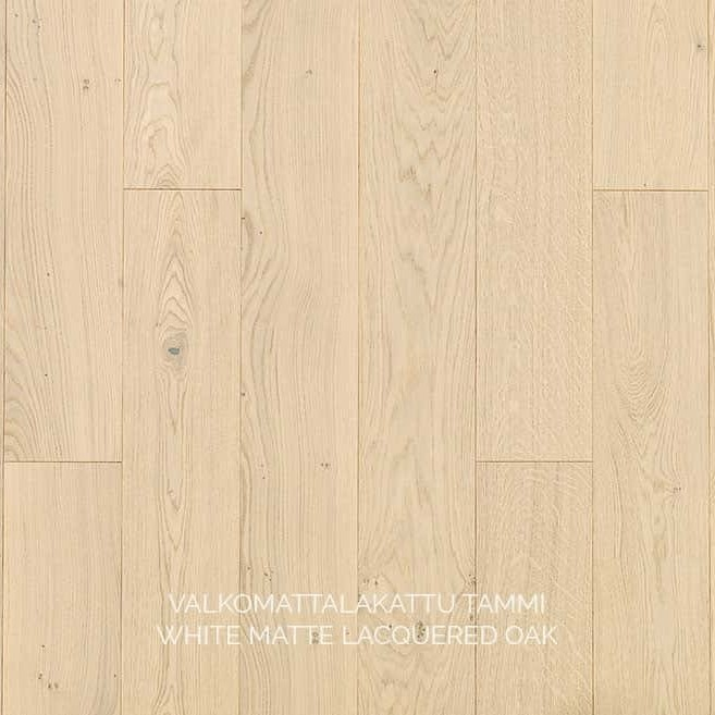 Паркет White Matte Lacquered, Timberwise (Финляндия)