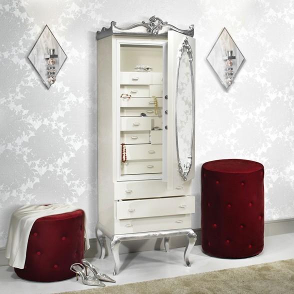 Шкаф с сейфом для хранения драгоценностей из коллекции Opera Italiana, Agresti (Италия)
