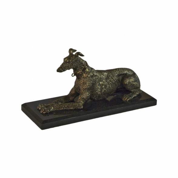 Статуэтка Собака лежащая Maitland Smith  (Америка)
