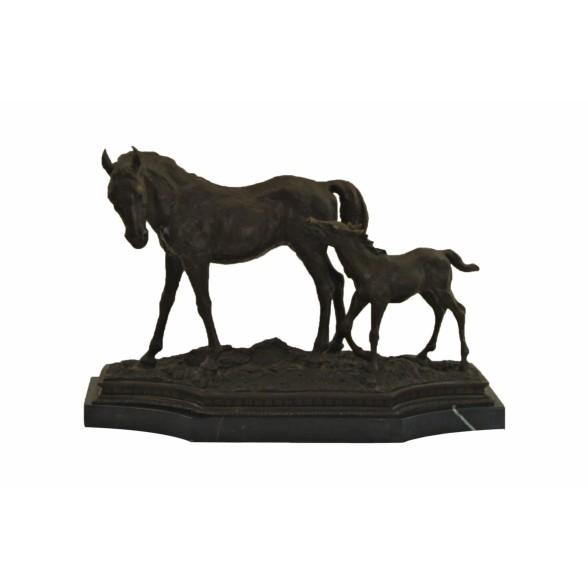 Статуэтка Лошадь и жеребенок, John Richard Collection (Америка)
