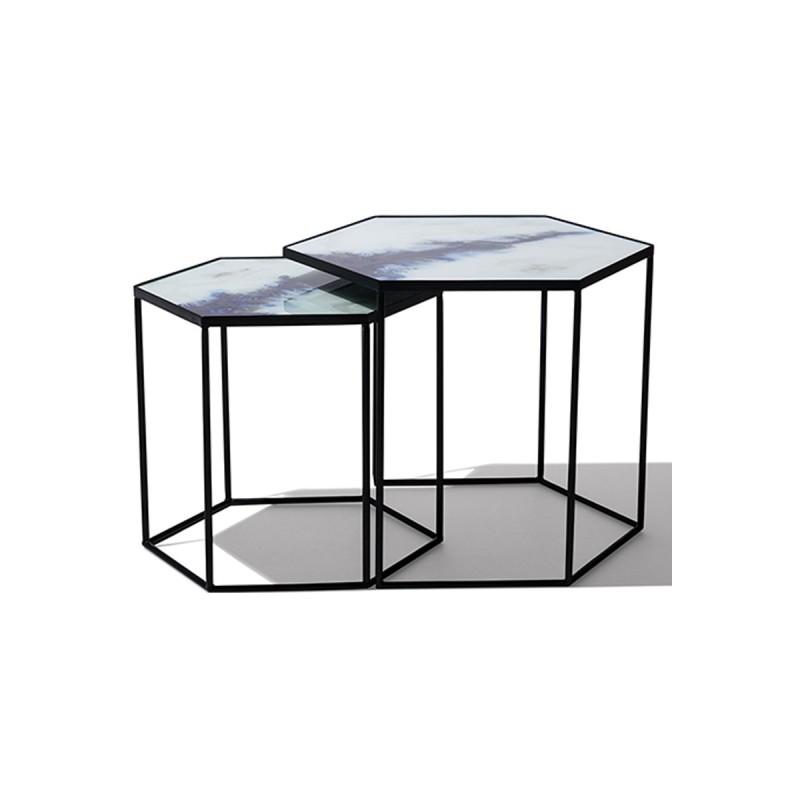 Комплект столиков Hexagon, Ethnicraft (Бельгия)