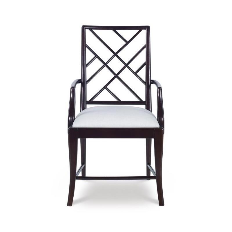Стул с подлокотниками Crossback, Century Furniture (Америка)