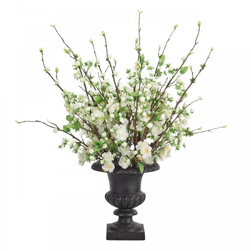 Цветущая вишня в металлической вазе, NDI (Америка)