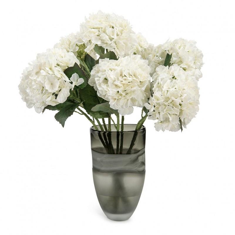 Букет цветов в вазе: белые гортензии, John Richard (Америка)