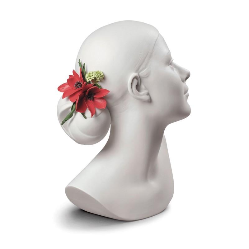 Статуэтка Lily with Flowers, Lladro (Испания)