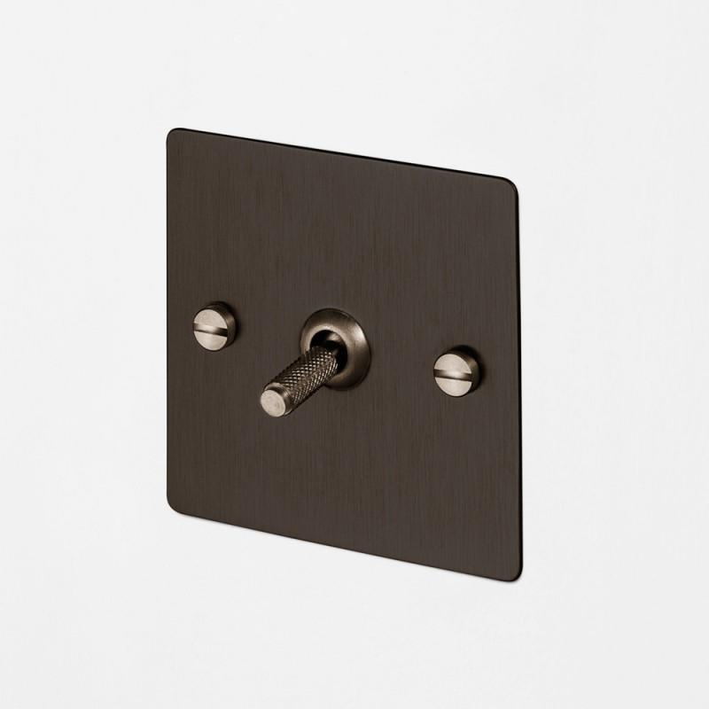 Выключатель промежуточный одноклавишный Smoked Bronze, Buster&Punch (Англия)