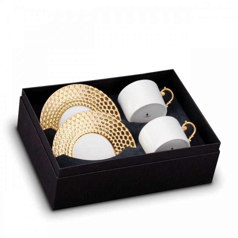 Чашка с блюдцем Aegean - комплект из двух штук, L`OBJET (Франция)