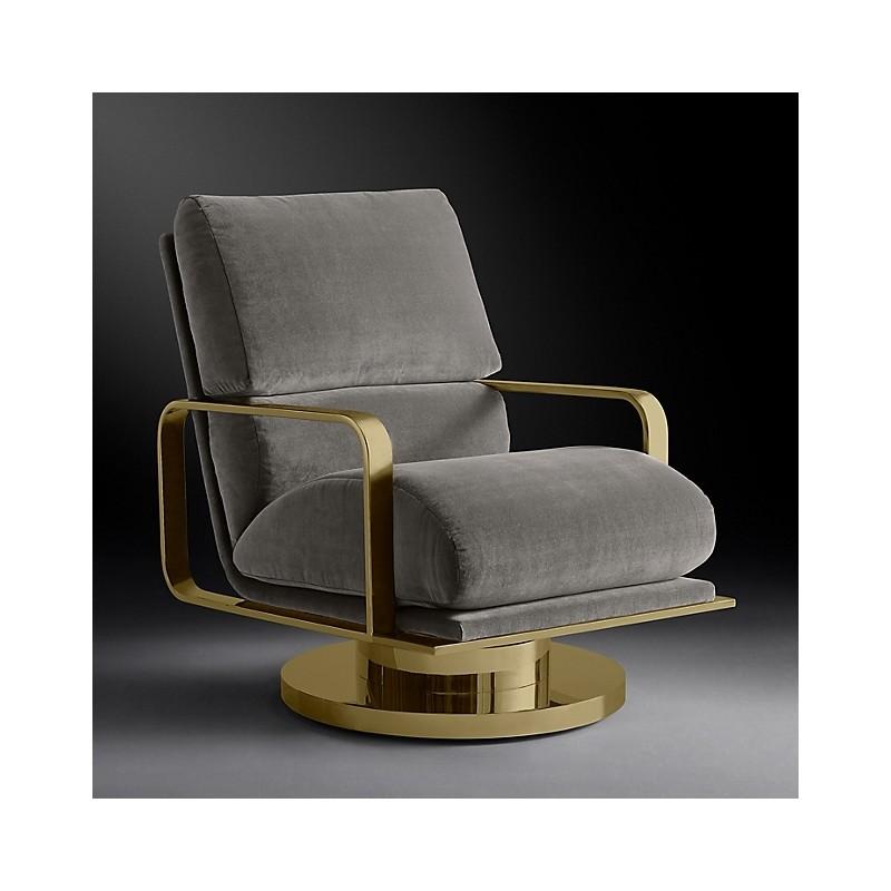 Кресло поворотное Milo Baughman, Restoration Hardware (Америка)