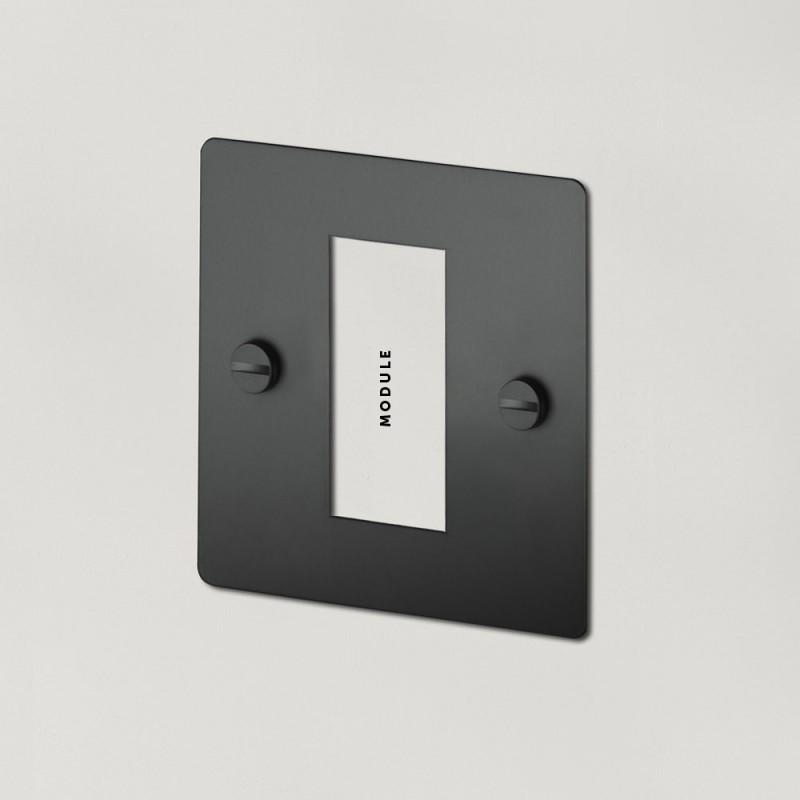 Рамка для одного модуля Black, Buster&Punch (Англия)