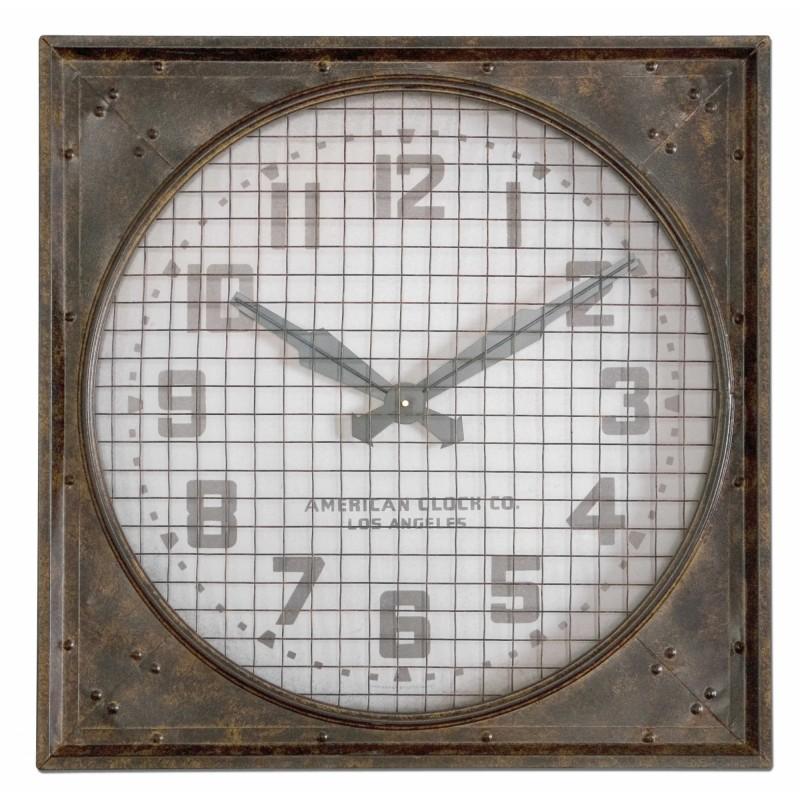 Часы настенные Warehouse, Uttermost (Америка)