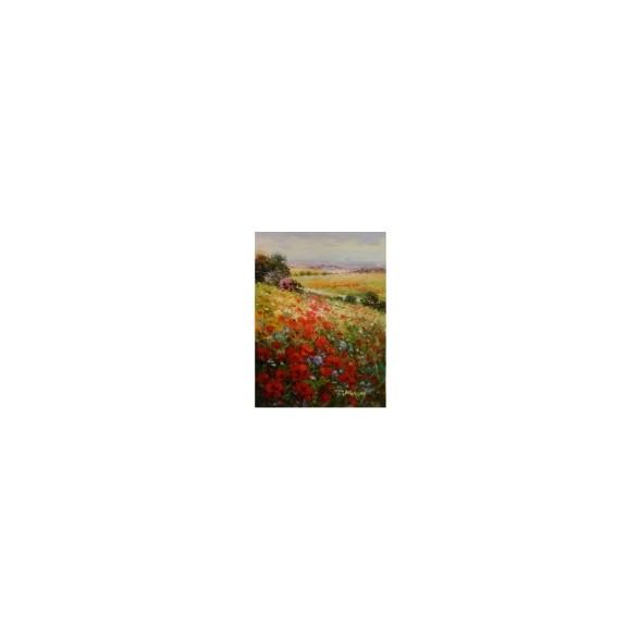 J.Morgan Полевые цветы - маки (Америка)