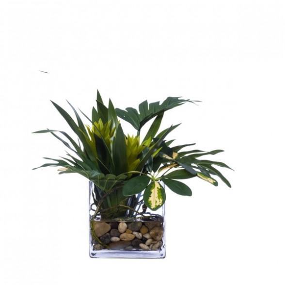 Филодендрон в вазе, Lux Art Silks (Америка)