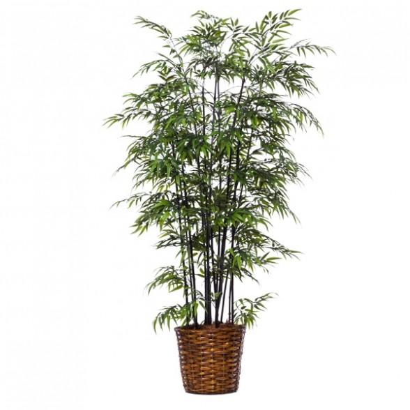 Черный бамбук в корзине, Lux Art Silks (Америка)