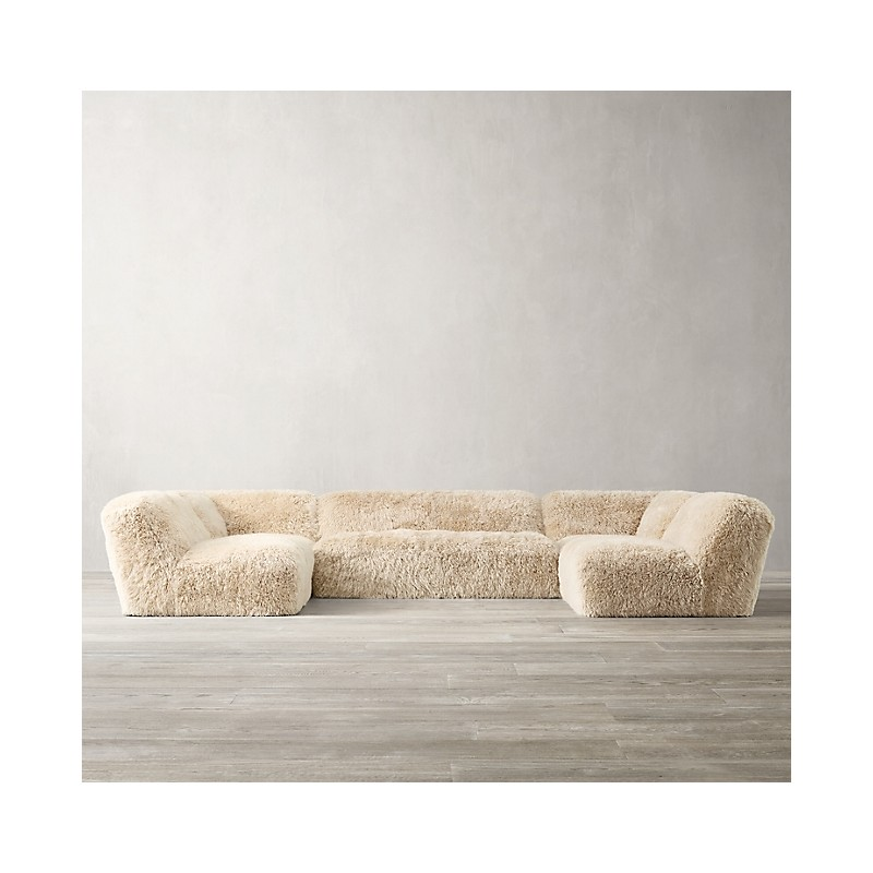 Диван Yeti Sheepskin, Restoration Hardware (Америка)