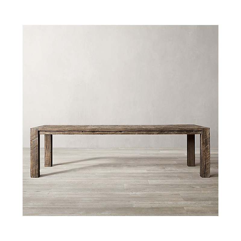 Обеденный стол Reclaimed Rustic, Restoration Hardware (Америка)