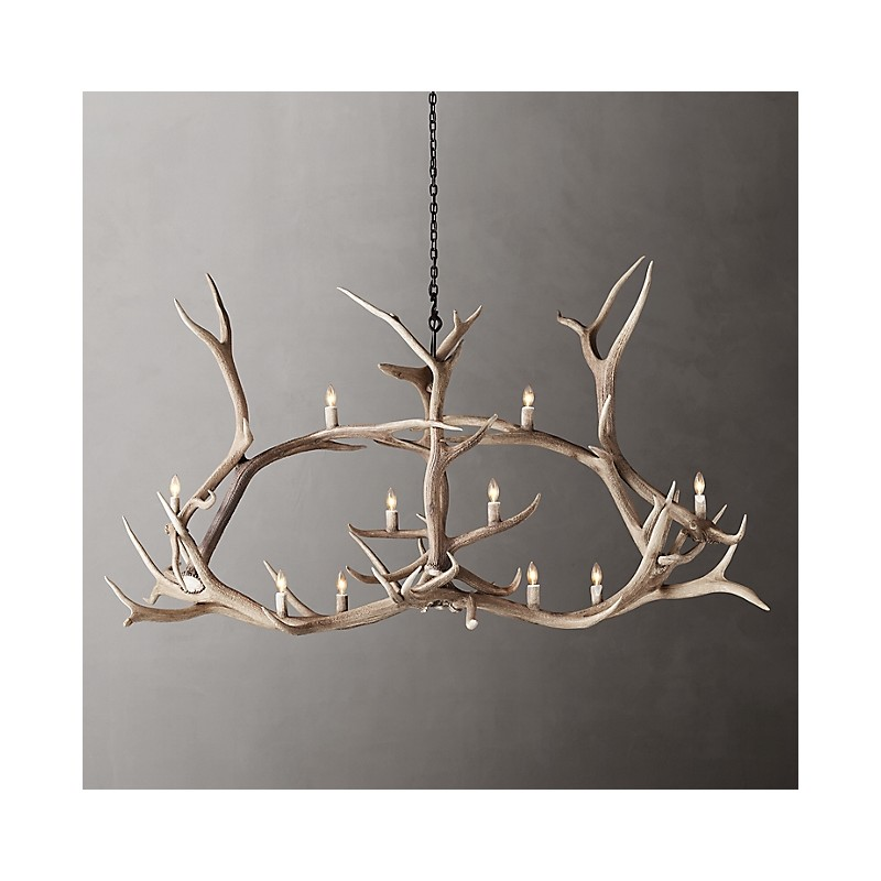 Люстра Natural Antler, Restoration Hardware (Америка)